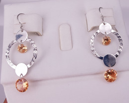 Zircons 925 Earrings