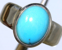32 CTS TURQUOISE SILVER RING  SG-2920