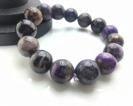 13mm Natural Purple Sugilite Bracelet