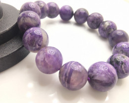 15mm Natural Purple Sugilite Bracelet