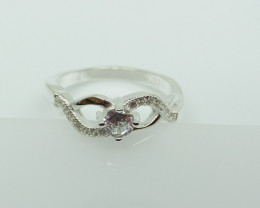 NATURAL 925 RINGS WITH TOP CLASS CUBIC ZIRCONIA