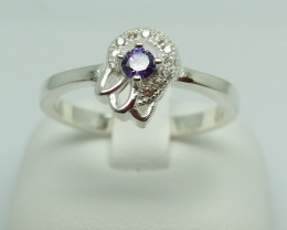 NATURAL 925 RINGS WITH TOP CLASS CUBIC ZIRCONIA F#43