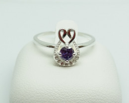NATURAL 925 RINGS WITH TOP CLASS CUBIC ZIRCONIA F#47