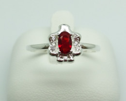 NATURAL 925 RINGS WITH TOP CLASS CUBIC ZIRCONIA F#49