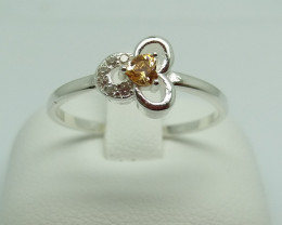 NATURAL 925 RINGS WITH TOP CLASS CUBIC ZIRCONIA F#65
