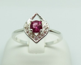 NATURAL 925 RINGS WITH TOP CLASS CUBIC ZIRCONIA F#72