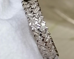 Natural Diamond Half Eternity Ring 0.33 TCW.