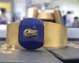 Lapis Lazuli inlay  Bracelet