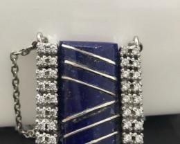Lapis Lazuli inlay Pendant