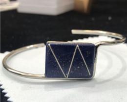 Bracelet Lapis Lazuli&Silver