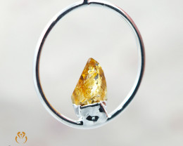 Citrine terminated point Pendant BR 153