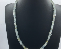 160 Crt Natural Aquamarine Necklace