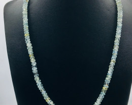 145 Crt Natural Aquamarine Necklace