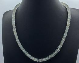 122.15 Crt Natural Aquamarine Necklace