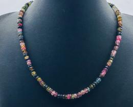 83.20 Crt Natural Tourmaline Necklace