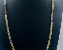 77.15 Crt Natural Multi Stone Necklace