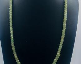 140.50 Crt Natural Aquamarine Necklace