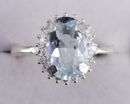 Top  Aquamarine Ring