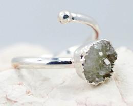 Raw Druzy Stone Rings