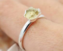 Raw Beautiful Citrine Gemstone  Rings Br 127