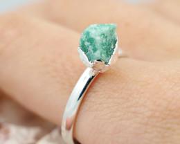Raw Beautiful aventurine Gemstone  Rings Br 128
