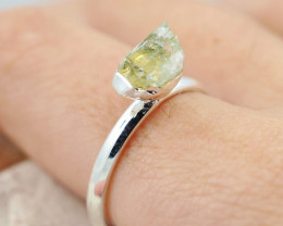Raw Beautiful Citrine Gemstone  Rings Br 129