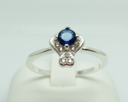 NATURAL 925 RINGS WITH TOP CLASS CUBIC ZIRCONIA I#12