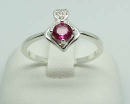 NATURAL 925 RINGS WITH TOP CLASS CUBIC ZIRCONIA I#13