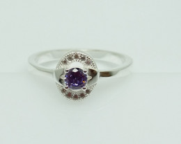 NATURAL 925 RINGS WITH TOP CLASS CUBIC ZIRCONIA I#14