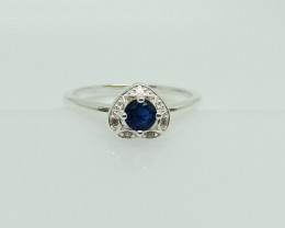 NATURAL 925 RINGS WITH TOP CLASS CUBIC ZIRCONIA I#15