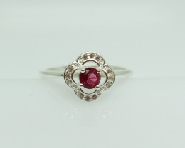 NATURAL 925 RINGS WITH TOP CLASS CUBIC ZIRCONIA I#21