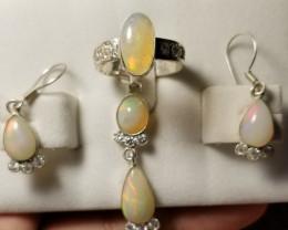 Natural Opal Set 38.55 Cts.