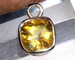 6.06 CTS -CITRINE SILVER PENDANT  SG-2989