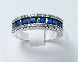 PURE 925% RINGS WITH TOP CLASS CUBIC ZIRCONIA M#2