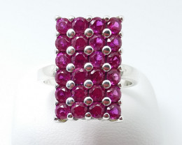 PURE 925% RINGS WITH TOP CLASS CUBIC ZIRCONIA M#4
