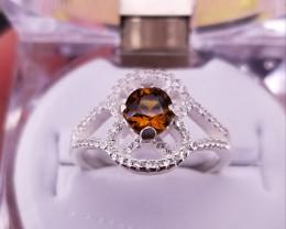 Natural Mali Garent Ring