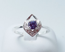 NATURAL 925 RINGS WITH TOP CLASS CUBIC ZIRCONIA M#13
