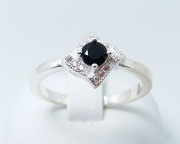 NATURAL 925 RINGS WITH TOP CLASS CUBIC ZIRCONIA M#14