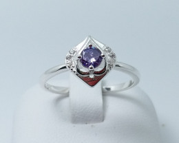 NATURAL 925 RINGS WITH TOP CLASS CUBIC ZIRCONIA M#15