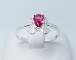 PURE 925% RINGS WITH TOP CLASS CUBIC ZIRCONIA N#19