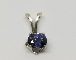 Spinel Natural  Silver Perfect Pendant