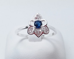 PURE 925% RINGS WITH TOP CLASS CUBIC ZIRCONIA P#16