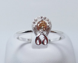 PURE 925% RINGS WITH TOP CLASS CUBIC ZIRCONIA P#20