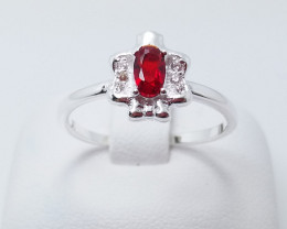 PURE 925% RINGS WITH TOP CLASS CUBIC ZIRCONIA P#21