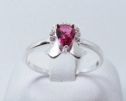 PURE 925% RINGS WITH TOP CLASS CUBIC ZIRCO P#23NIA F