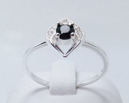 PURE 925% RINGS WITH TOP CLASS CUBIC ZIRCONIA P#24