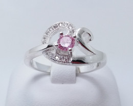 PURE 925% RINGS WITH TOP CLASS CUBIC ZIRCONIA P#12