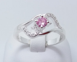 PURE 925% RINGS WITH TOP CLASS CUBIC ZIRCONIA P#15