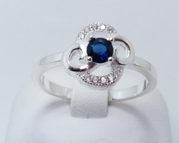 PURE 925% RINGS WITH TOP CLASS CUBIC ZIRCONIA P#17