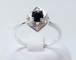 PURE 925% RINGS WITH TOP CLASS CUBIC ZIRCONIA R#4